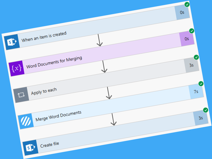 Build a proposal document dynamically using SharePoint and Flow